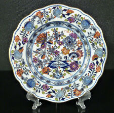 Meissen Gebäckteller Teller Zwiebelmuster Royal Polychrom Ø ca. 16 cm - Nr.6