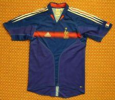 2004 - 2005 France Home Blue Football Shirt by Adidas, Mens Small