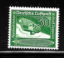 Hick Girl-Old Mint German Airmail Sc#C60 Airship Gondola Issue 1938 X8328