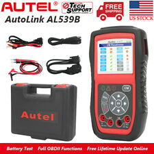 Autel AL539B Car OBD2 Scanner Diagnostic Tool Battery Tester Auto Code Reader
