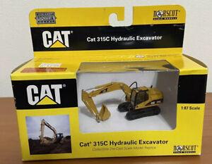 Caterpillar Cat 315C Hydraulic Excavator Die-Cast Metal Replica 1:87 scale