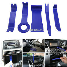 5pcs Blue Car Door Trim Audio Stereo GPS Panel Moulding Pro Removal Pry Tool