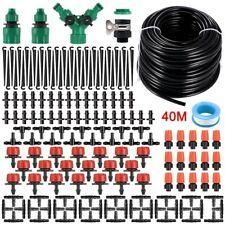 40M Automatische Anlagen Bewässerungssystem Set Garten Bauernhof Micro Drip Kit