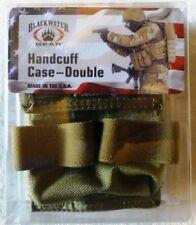 BlackWater Gear Handcuff Case, Double, Khaki