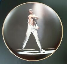 """Danbury Mint Freddie Mercury Collection 8"""" Collector Plate - In The Spotlight"""