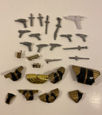 1990's Power Rangers Accessory Parts Lot Blasters Weapons Mmpr, Zeo, Turbo