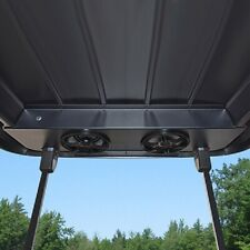 Club Car Precedent Golf Cart Bluetooth Sound System Roof Top Mount