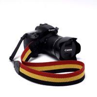 Camera Shoulder Strap Vintage Stripe Durable Universal Neck Cotton Camera Strap