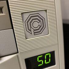 OCP Robocop Omni 386 486 Computer Case Badge Flat Sticker Retro PC 1x1