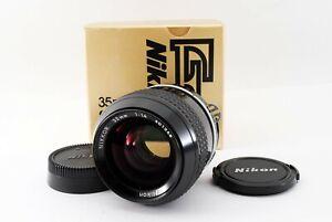 Nikon Ai Nikkor 35mm f/1.4 Wide Angle Prime MF Lens w/Box A815208