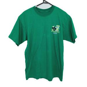 Jimmy Buffett Margaritaville Waikiki Hawaii Mens T-Shirt Size L Green Concert