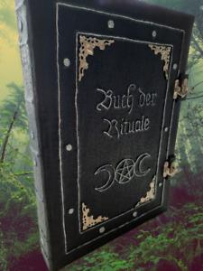 Grimoire der Rituale - aus altem Hexenwissen, handgefertigt, Buch der Schatten