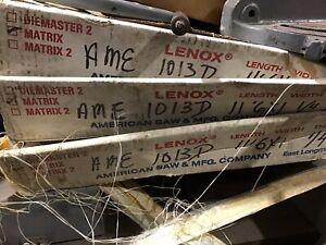 """3 Lenox 11' X 6"""" X 1"""" Matrix Bandsaw Blades"""