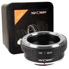 K&F Concept Nikon-M4/3 Adapter Nikon to Micro Four Thirds M42-MFT M43 (KF06.078)