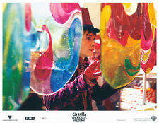 Charlie and the Chocolate Factory 11x14 lobby card Johnny Depp in factory