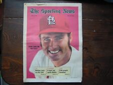 1971 Sporting News May 8 Carlton Cardinals HOF Knicks Canadians Ozzie Sweet