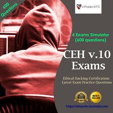 CEH v.10 EC council Certification: Latest Exam Questions (600 Questions)