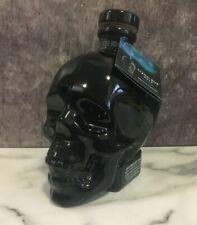 Crystal Skull Vodka Onyx Black Empty Bottle