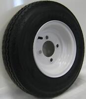 Boat Camper 4.80-8(6Ply) Tire & Rim 5 Bolt Wheel
