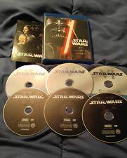 Star Wars Trilogy (Blu-ray/DVD, 2013, 6-Disc Set) FREE SHIPPING
