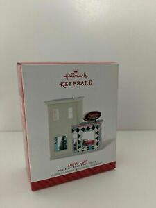 "HALLMARK KEEPSAKE 2014 "" ANDY'S CARS "" CHRISTMAS ORNAMENT TREE NEW IN BOX"