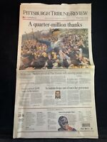 2006 Pittsburgh Tribune-Review Pittsburgh Steelers Super Bowl XL Newspaper