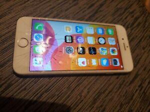 Iphone 6s cracked screen unlocked