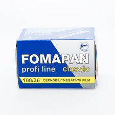 1 Roll x FOMAPAN 100 Profi Line Classic 135 35mm 36exp Black & White Film FOMA