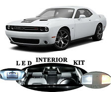 LED Package - Interior + License Plate + Vanity for Dodge Challenger  (14pieces)