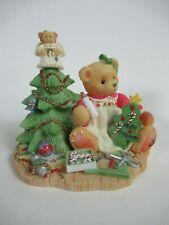 """Cherished Teddies Enesco 1998 Lynn """"A Handmade Holiday Wish"""" 310735 GCIB"""