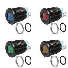 12V 16MM LED Dashboard Warning Light Pilot Car Van Dash Panel Indicator Lamp New