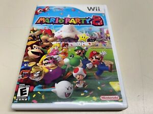Mario Party 8  (Nintendo Wii, 2007) Clean / Tested / COMPLETE NICE