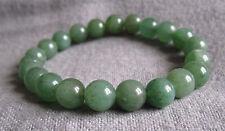 Armband aus Aventurin in mittlerem Grün 8m/15-23cm elastik