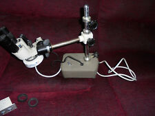 Meiji Techno Model BM Microscope Rework Lamp Heavy Duty Stand and spares