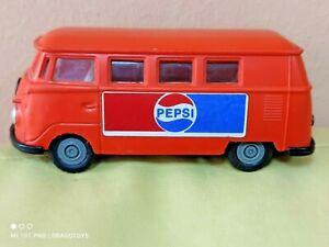 VINTAGE PEPSI HUNGARIAN FOREIGN FLIM LEMEZ SAMBA BUS VW PLASTIC FRICTION TOY