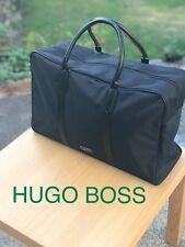 🆕Hugo Boss Mens Weekend Holdall Sports Gym Travel Bag Black FREE DELIVERY!💙