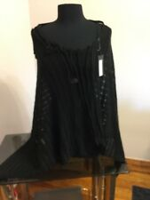 100% Hand Knitted Linen Poncho By Vivre Couture
