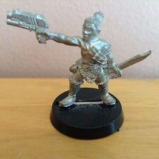 Necromunda Ratskin Renegade Brave w/ Stub Gun Metal Figure Warhammer 40K O47