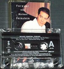 Michael Feinstein Forever CASSETTE ALBUM 13 tracks Smooth Jazz 1993 US ISSUE