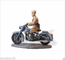 Soldados de Plomo en Moto 1:30 BMW R35 Legion Condor SMI030