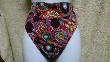 Freya 9719 Fold Swim Brief UK Large/US Large Multi-colored NWOT
