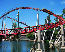 Maverick,Roller Coaster, Cedar Point 8x10 High Quality Photo Picture