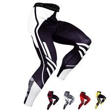 Compressão homens calça seca rápido Baselayer Basquete Fitness Running Meia-calça Camo
