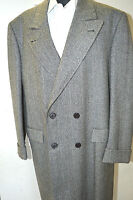 NEW 5590,00 $ BRIONI  Gray Top Over Coat  Wool Size L Us 52 Eu