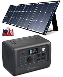 ⚡ BLUETTI EB70 Portable Puissance Station LiFePO4 700W Pure Sine + 200W Solaire