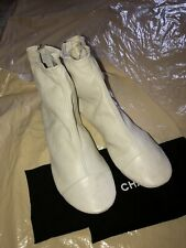 NEW Chanel CC Ankle Bootie Insert With A Back Zipper One Size