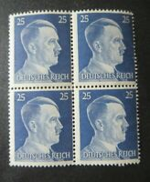 "GERMANY STAMPS  MINT   ""DEUTSCHES REICH --HITLER HEAD"" BLOCK"