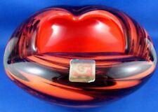 Ashtray Vintage Original Art Glass