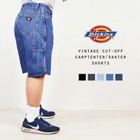 Vintage DICKIES Cut-Off Denim Carpenter Skater Shorts Work Various