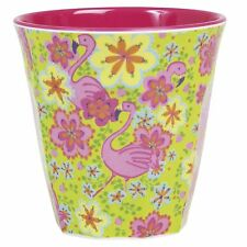 RICE Melamine cup in flamingo print
